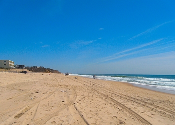 Montauk Fishing Report on Plains Beach In The Wake Of Hurricane Earl Beach Report For Ocean
