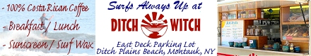 Ditch Witch - Ditch Plains Beach - Montauk, NY