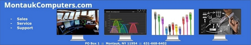 Montauk Computers ~ Sales | Service | Support